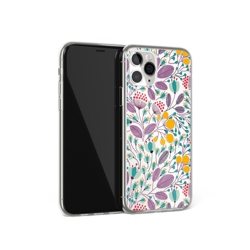 Floral Print iPhone Case, Spring Summer Flowers Cover, iPhone 11 X Xs Xr