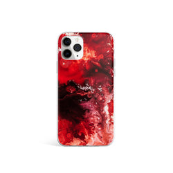 Silicone Marble Print iPhone Case, iPhone 11 Pro Max Case