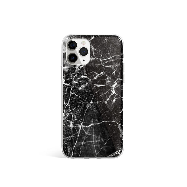 Silicone Case Smokey Black - Marble Print iPhone Case, iPhone 11 Pro Max Case