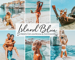 Island Blue Lightroom Presets and Photoshop Filters
