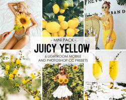 Juicy Yellow Lemonade Presets For iPhone and Android