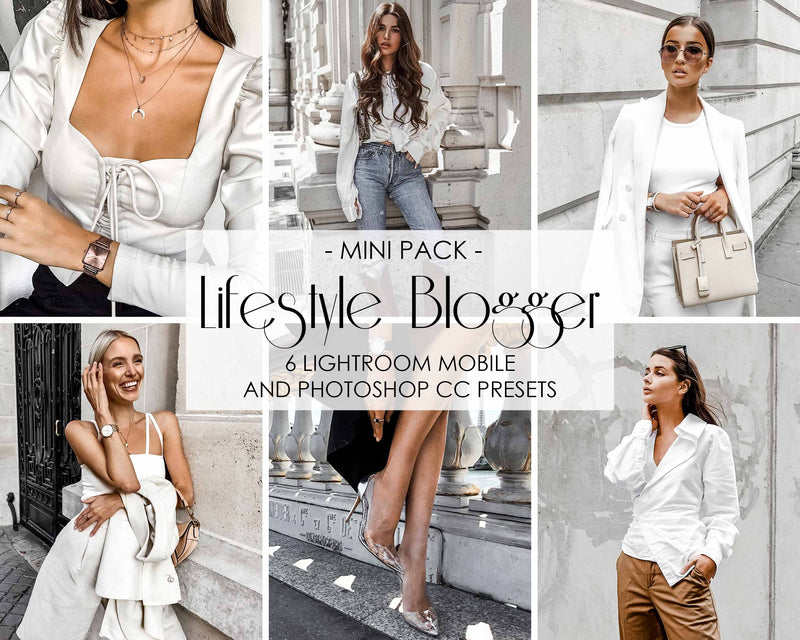 Lifestyle Blogger Presets For Lightroom And Photoshop