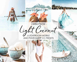 Light Coconut Presets For Lightroom And Photoshop CC by Adobe