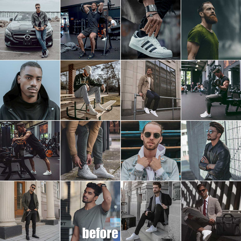 Mens Lifestyle Presets For Fashion Bloggers In Lightroom And Photoshop