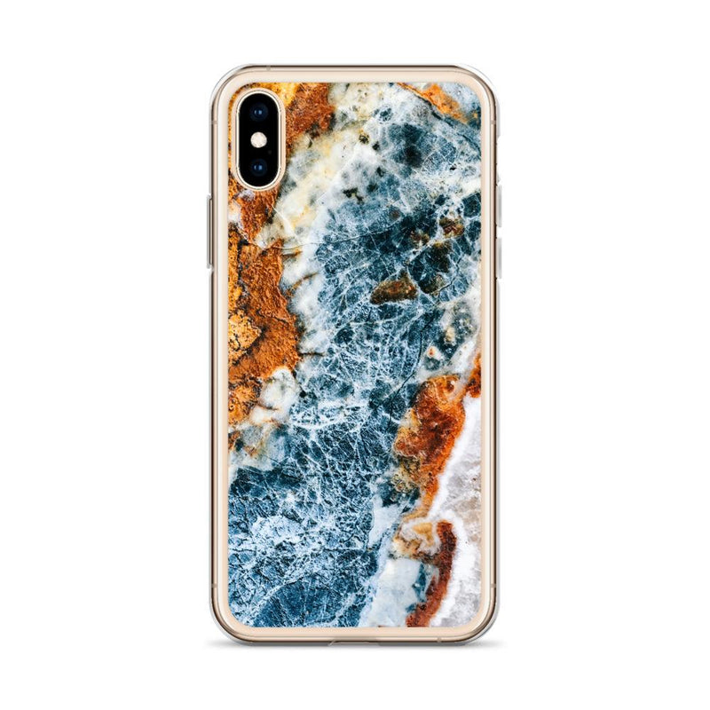 Running Water Marble iPhone Case, Silicone Case For iPhone 11,XS,X
