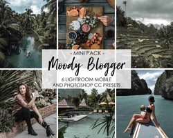Moody Blogger Presets For Dark Tones
