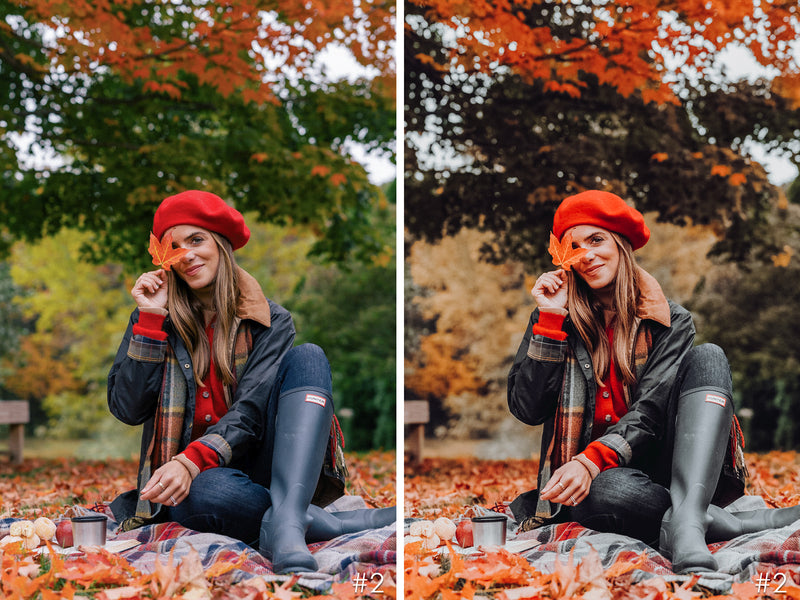 Moody Fall Autumn Lightroom Presets for Mobile and Desktop