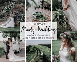 Moody Wedding Presets For Photoshop And Lightroom CC Mobile