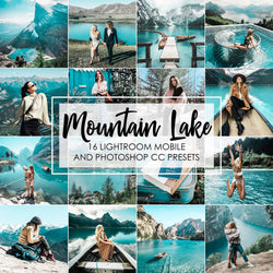 Mountain Lake Presets For Photoshop And Lightroom Mobile