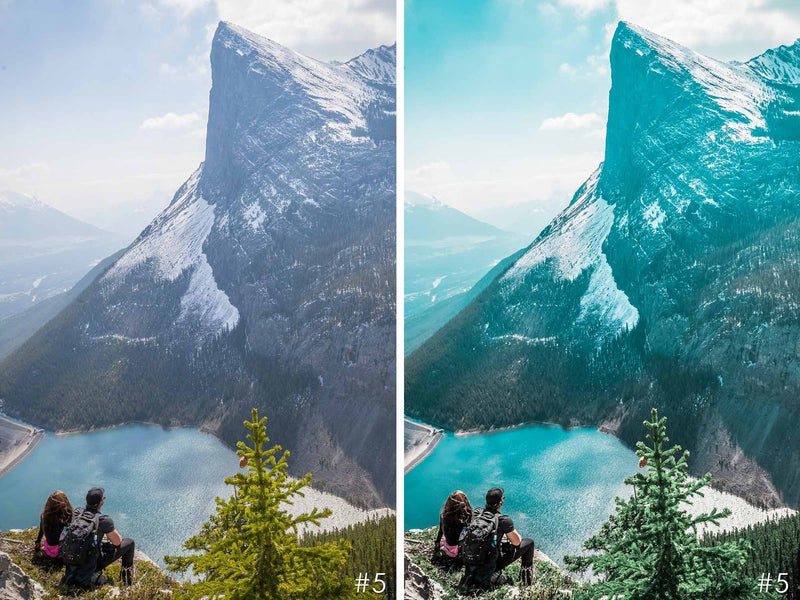Mountain Lake Presets For Lightroom CC Mobile And Adobe Photoshop