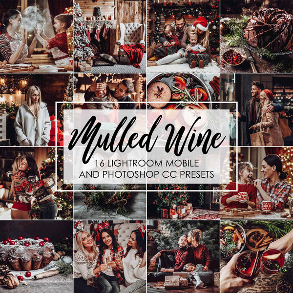 Mulled Wine Christmas Presets For Lightroom Mobile And Photoshop
