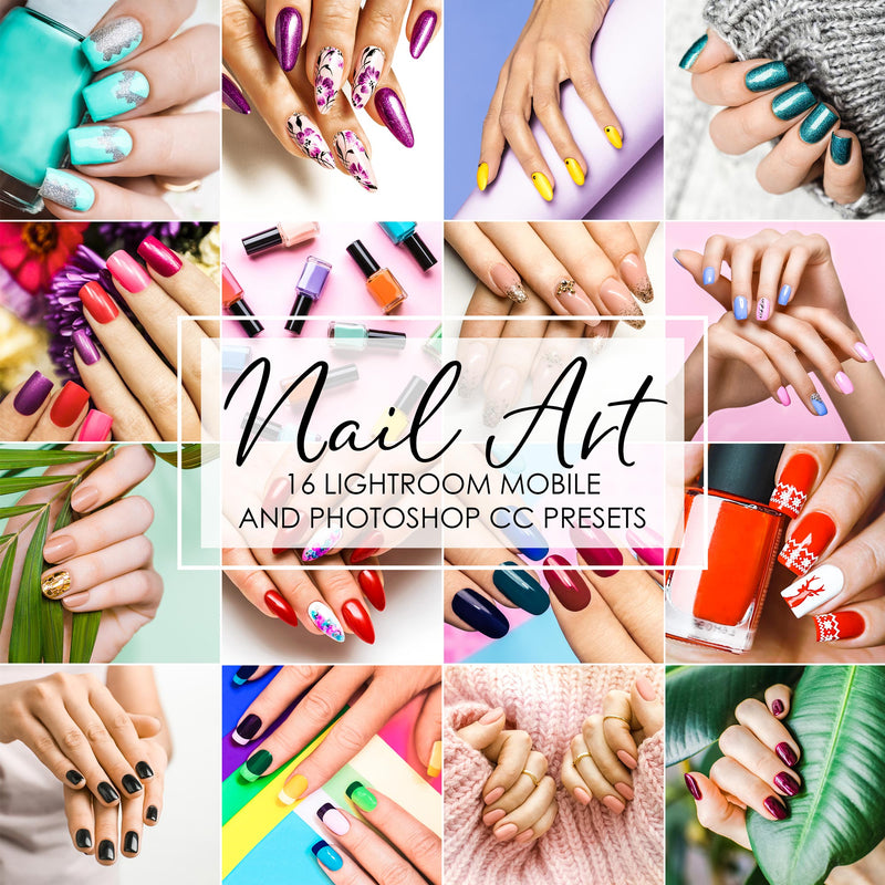 Nail Art Manicure Beauty Salon Lightroom Presets