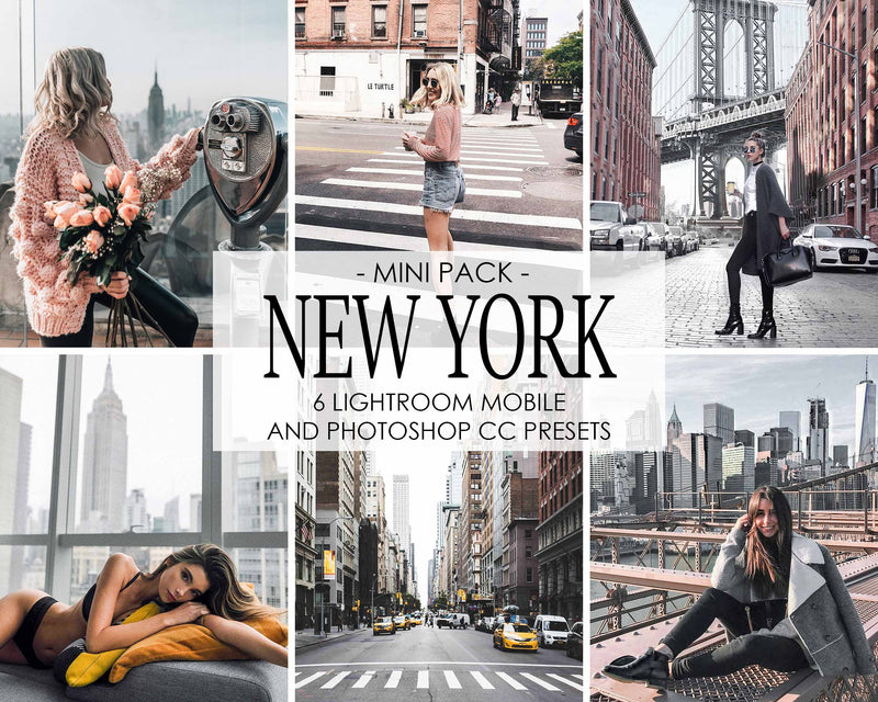 New York City Travel Presets For Lightroom Mobile