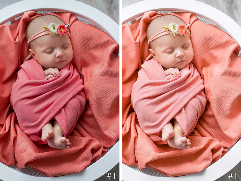 Newborn Life Lightroom and Photoshop Presets for Desktop and Mobile
