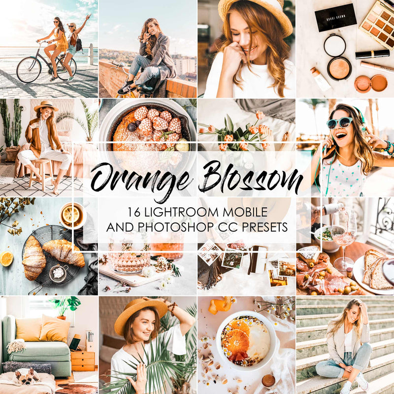 Orange Blossom Lightroom Presets For Mobile And Photoshop