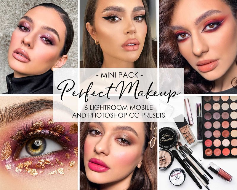 Perfect Makeup Beauty Salon Lightroom and Photoshop Presets