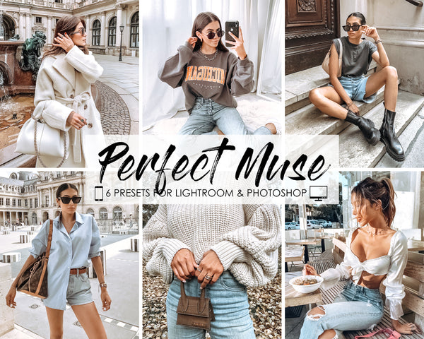 Perfect Muse Presets for Adobe Lightroom and Photoshop