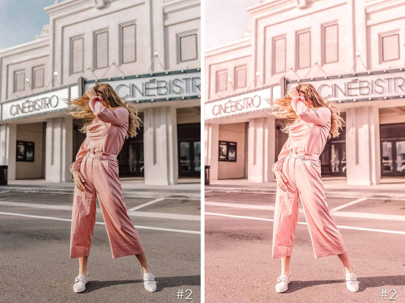 Pink Mood Presets For Lightroom And Photoshop CC