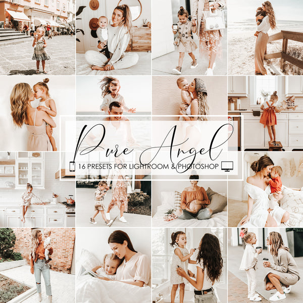Pure Angel Lightroom Presets For Mobile iPhone and Desktop
