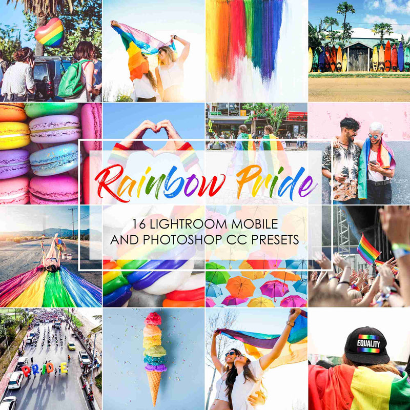Rainbow Pride Presets For LGBT Community