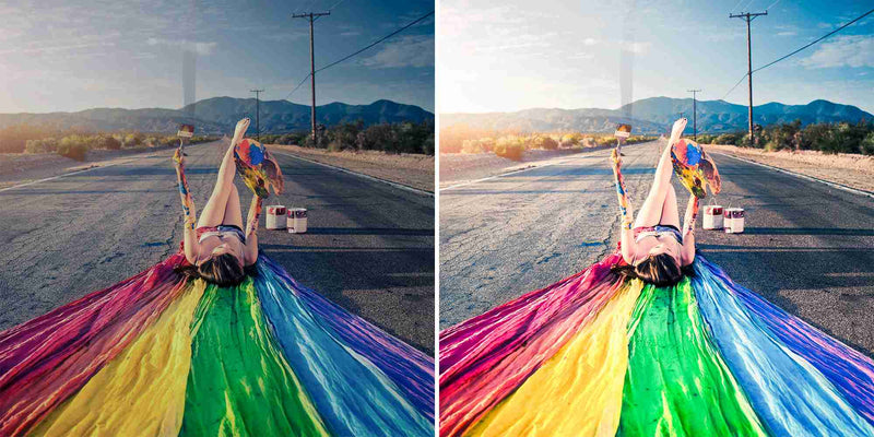 Rainbow Pride Presets For LGBT, LGBTQ and Gay Pride Photos In Lightroom And Photoshop