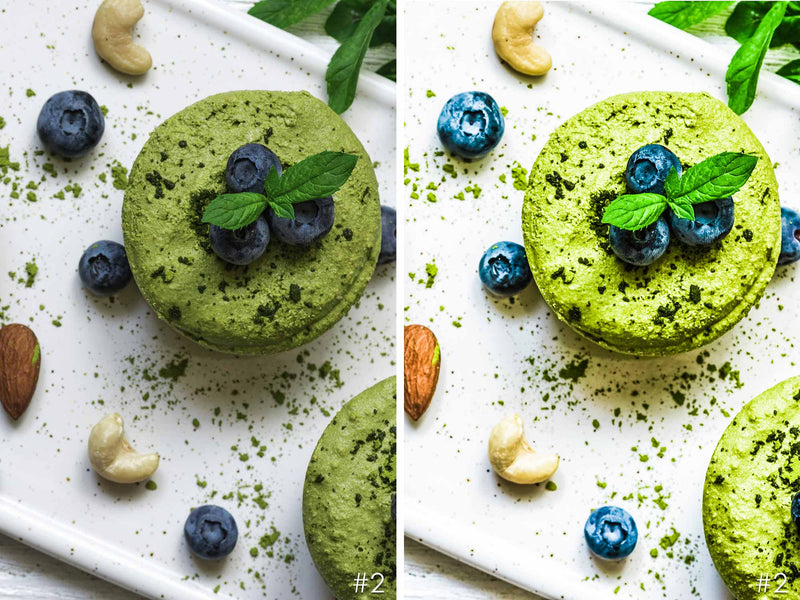 Raw Vegan Food Presets for Photoshop and Lightroom Mobile