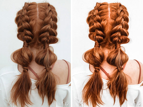 Red Hairstyle Beauty Salon Lightroom Presets