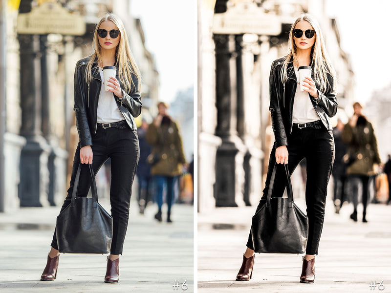 Rich Blacks Fashion Lifestyle Lightroom Presets and Photoshop Filters