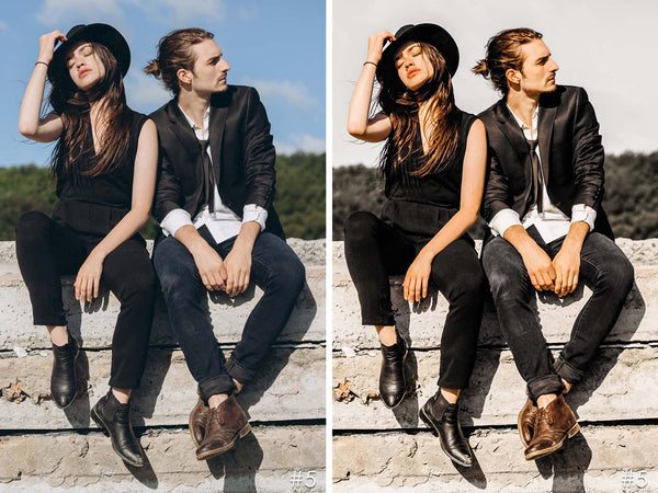 Rich Blacks Fashion Lifestyle Lightroom Presets
