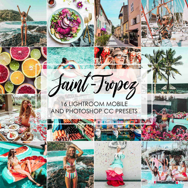 Saint Tropez Summer Presets For Adobe Lightroom Mobile And Desktop