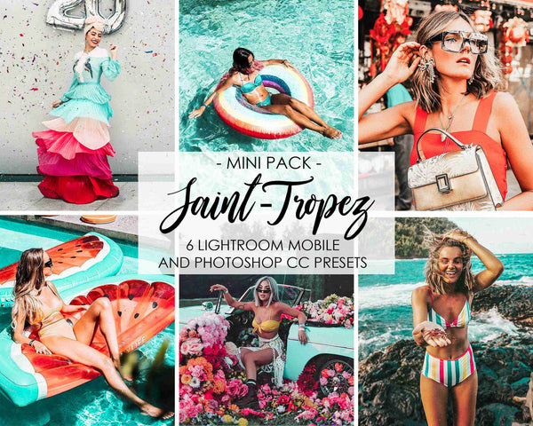 Saint Tropez Lightroom Presets