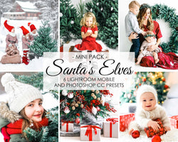 Santas Elves Xmas Presets For Christmas Holiday In Lightroom And Photoshop