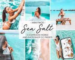 Sea Salt Presets For Photoshop And Lightroom