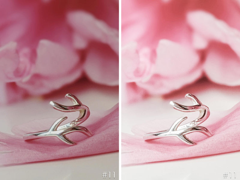 Silver Jewelry Product Photography Presets for Lightroom and Photoshop