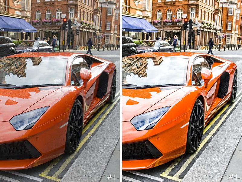 Sports Car Lightroom Presets And Photoshop Filters For Car Photography
