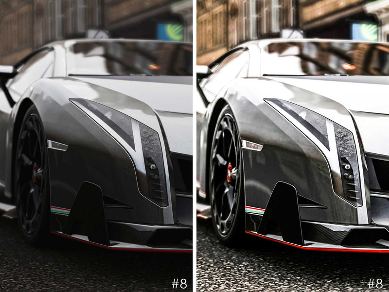 Sports Car Lightroom Presets For Ferrari, Lamborghini, Porsche and Race Cars