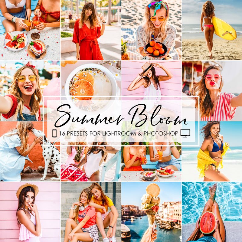 Summer Bloom Lightroom Presets Pack