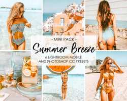 Summer Beach Lightroom Presets