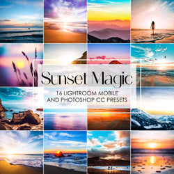 Sunset Magic Lightroom Presets For Mobile And Desktop