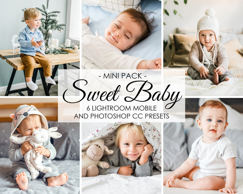 Sweet Baby Presets for Lightroom And Photoshop Filters