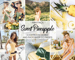 Sweet Pineapple Lightroom Mobile Presets And Photoshop Filters