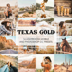 Texas Gold Lightroom Presets For Mobile And Desktop
