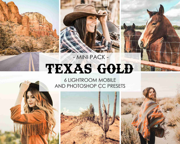 Texas Gold Presets For Orange Tones In Lightroom And Photoshop