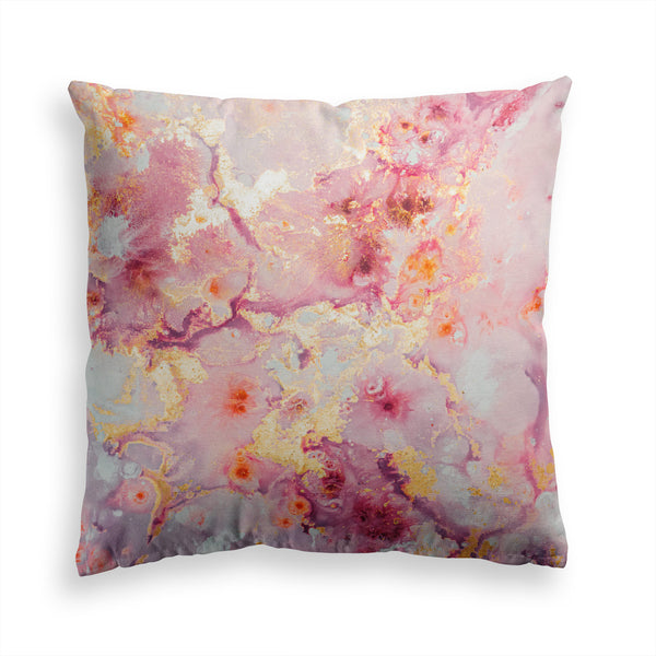 Marble Pillow Print, Pink Pillow, Contemporary Modern Home Decor