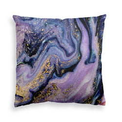 Purple Rain Throw Pillow, Violet Decorative Pillow, Home Decor Cushion