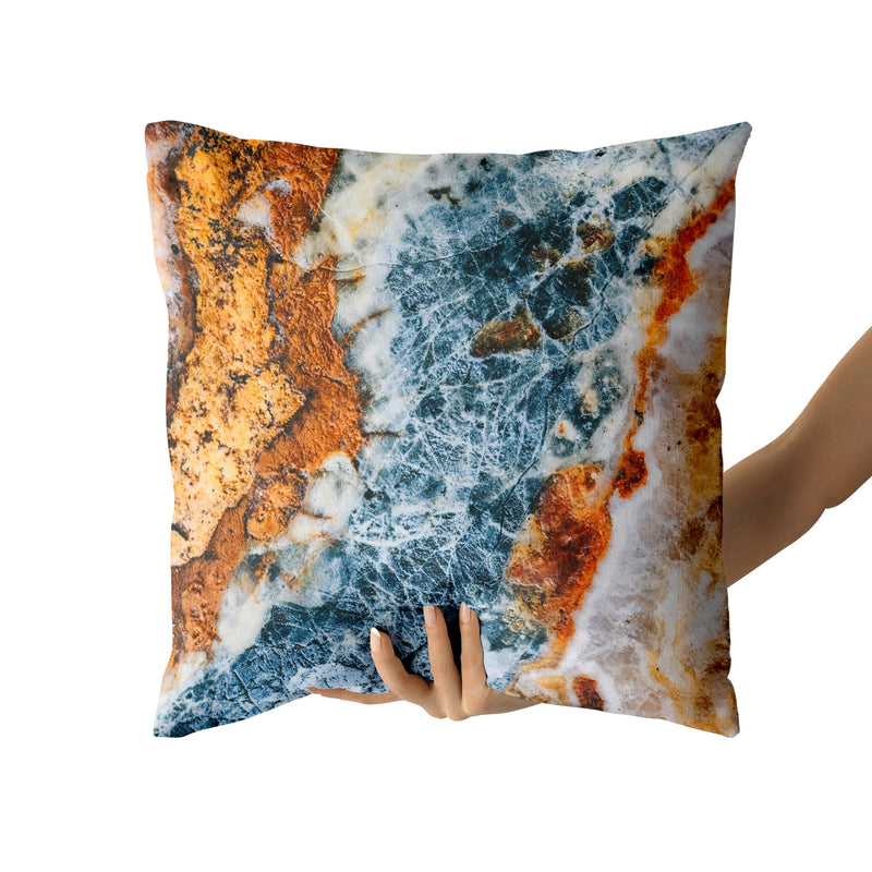 Running Water Throw Pillow, Home Decor Contemporary Decorative Pillow