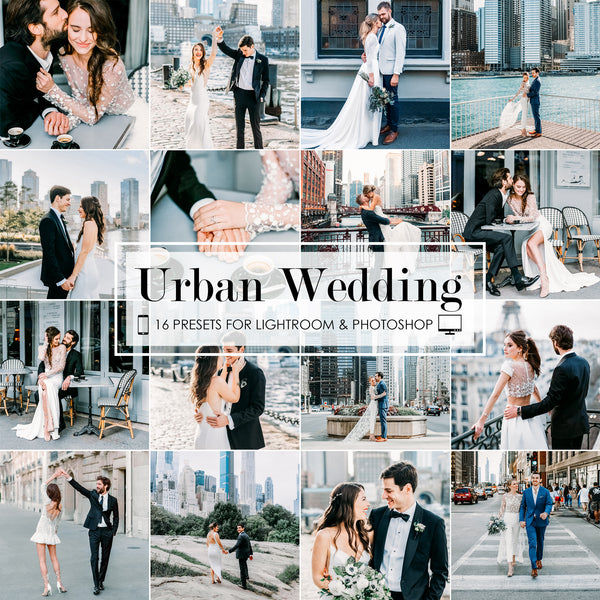 Urban Wedding Lightroom Presets Pack