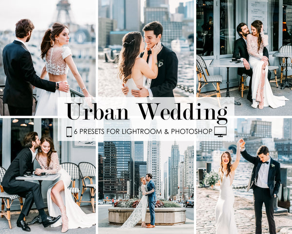 Urban Wedding Photoshop and Lightroom Presets