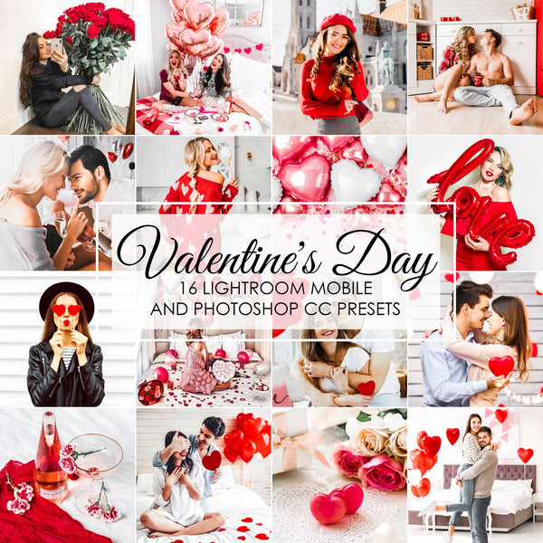Valentines Day Lightroom Presets For Desktop And Mobile