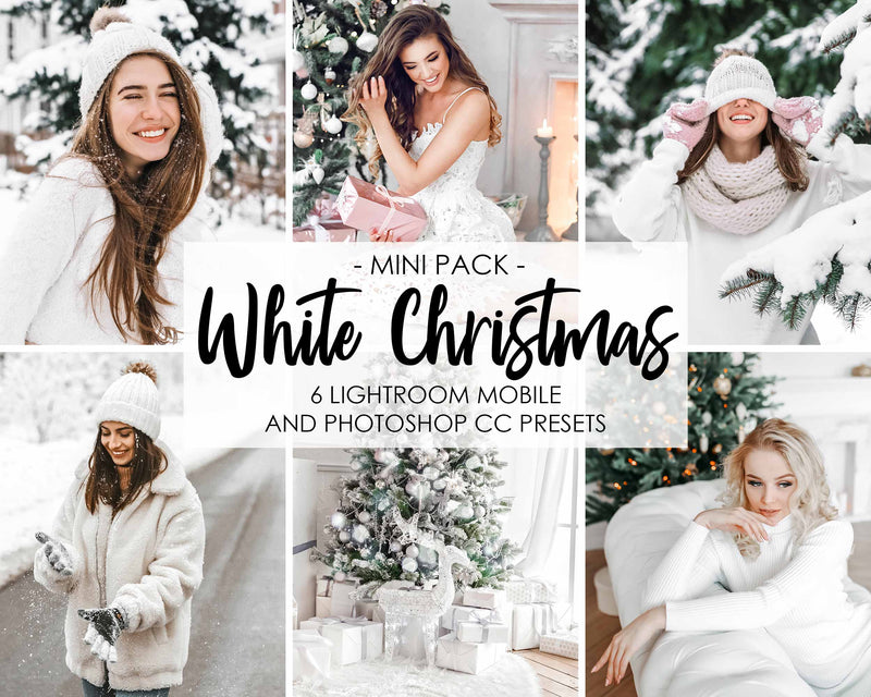White Christmas Presets For Xmas Day In Lightroom